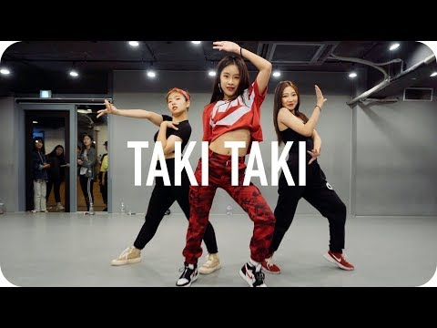 Taki Taki - DJ Snake ft. Selena Gomez, Ozuna, Cardi B / Minyoung Park Choreography - Ржачные видео приколы