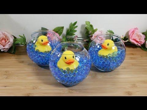 como hacer un adorno de pato para baby shower divertido y