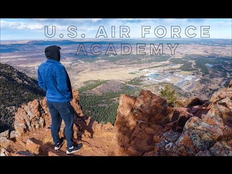 US Air Force Academy Tour! (USAFA) || Eagles Peak Hike