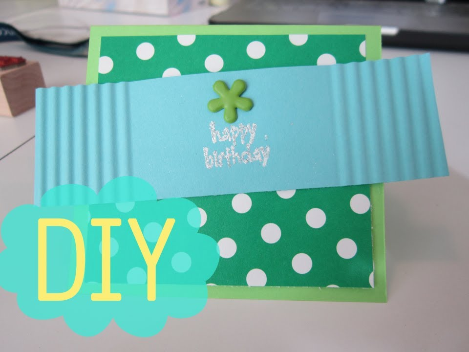 diy birthday cards, Birthday card