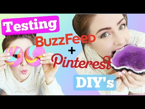Testing Pinterest and Buzzfeed DIY