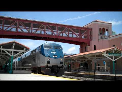 Amtrak P092 : West Palm Beach Station 06/10/2011