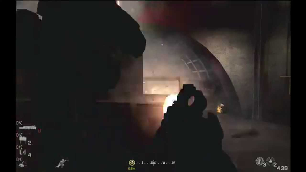 Call of Duty 4 - no fighting in the war room - Veteran 3m45s