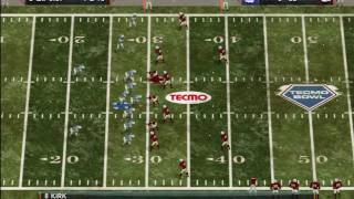 Tecmo Bowl Throwback Gameplay Segment