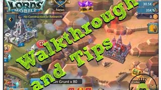 Game | Lords Mobile Complete Walkthrough and Tips | Lords Mobile Complete Walkthrough and Tips