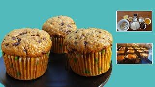 Hướng dẫn cách làm bánh Cupcake chuối | Bakery Hoa Pham