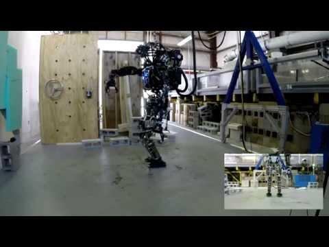 Atlas whole-body grasp execution