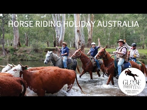 Horse riding holiday in Australia -