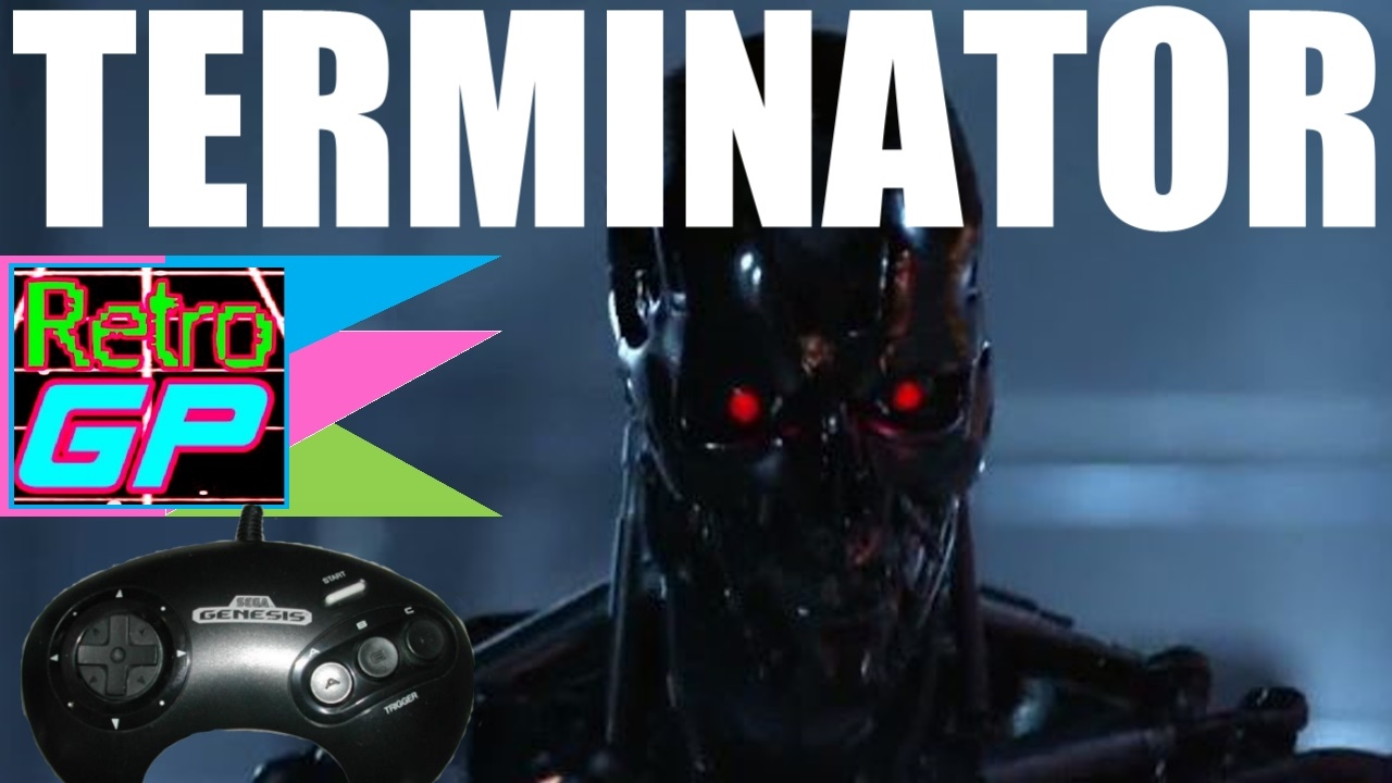 best terminator game? the terminator on sega cd (virgin games 1993