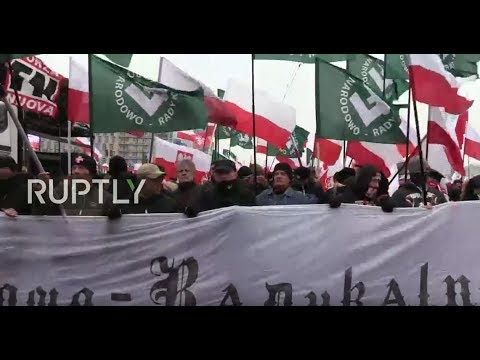 LIVE: Nationalists march in Warsaw on centennial of Polish Independence Day