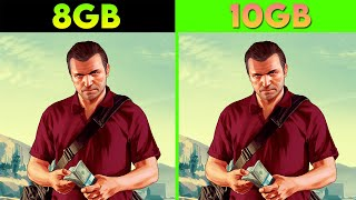 GTA 5   RAM Test   8GB RAM VS 10GB RAM   1080p