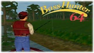 In-Fisherman Bass Hunter 64 Nintendo 64 Gameplay Walkthrough Part 10 - Tournament 8 Day 2!