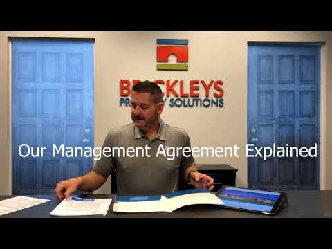 Brickleys Property Solutions FAQ & Management Agreement