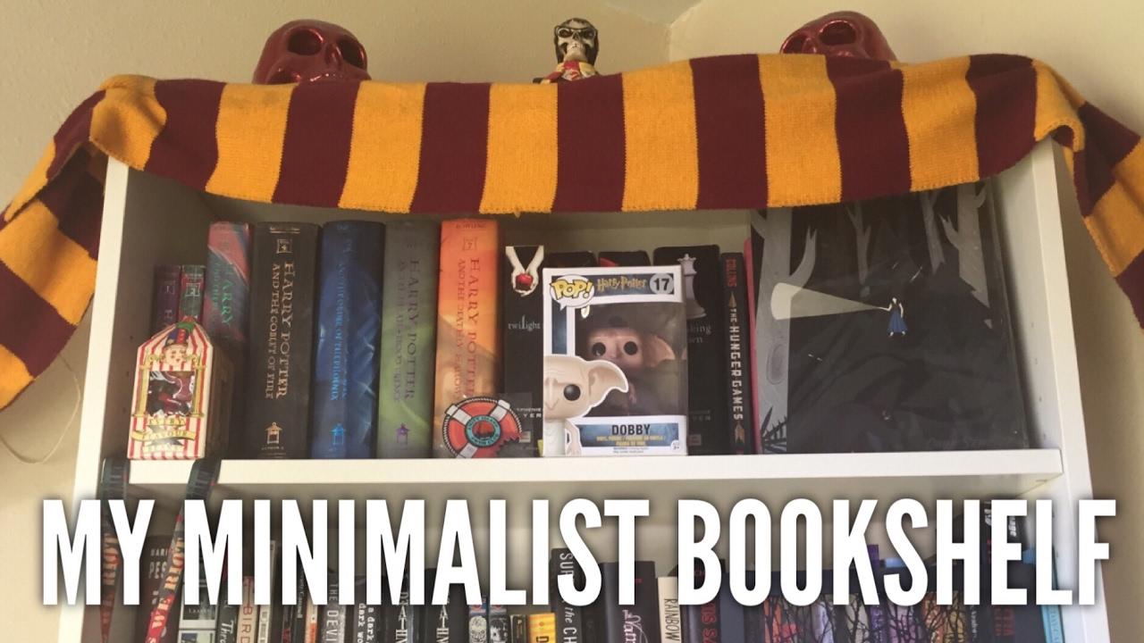 My Minimalist Bookshelf & My Minimalist Bookshelf