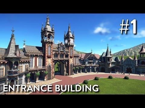 Planet Coaster: Fantasy Valley (Part 1) - Entrance Building