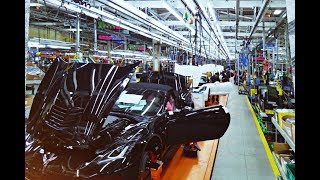 Bowling Green Assembly Corvette Plant Video Tour 2018