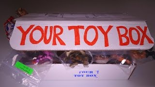 Opening: Your Toy Box SUBSCRIPTION BOX! #2 August 2015 thumbnail