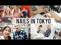 Girls Pampering Day in TOKYO | Nail Salon with Taylor R