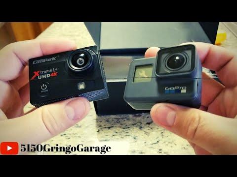 $39.99 Campark ACT74 4k Action Cam Vs Gopro Hero 6 Black