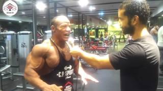 اﻻسطوره الشحات مبروك مع bodybuilding house