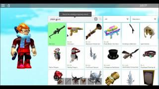 roblox catalog heaven best weapon's