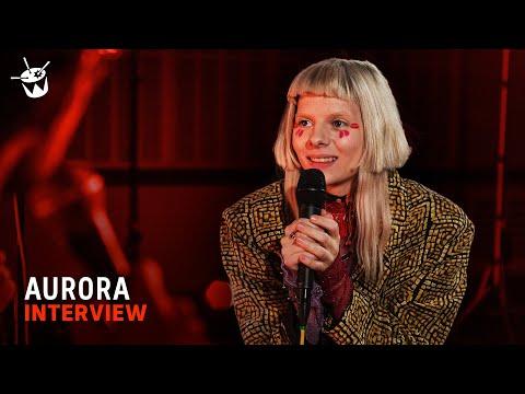Norwegian warrior AURORA on Trolls, rashes and bird boy | Like A Version Interview