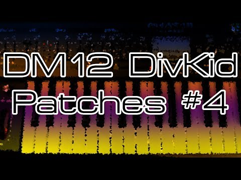 Behringer DeepMind 12 - DivKid Patches #4 with Nicolas Sykes