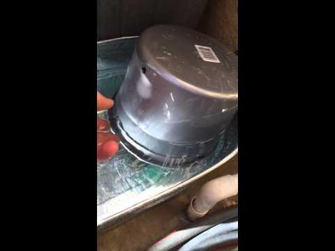 swamp cooler faucet hook up