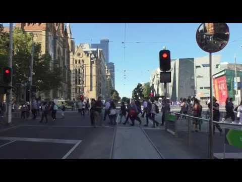 Melbourne Trams Route 70 Docklands to Wattle Park Part 1