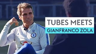 Who picks on Gianfranco Zola at Chelsea? | Tubes Meets