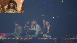 1201 MMA BTS Reaction to (G)I-DLE()) _ HANN