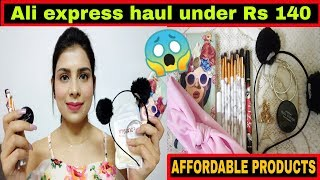 Aliexpress haul under Rs 140 | Affordable haul | Do we get refund ? | Aliexpress haul india