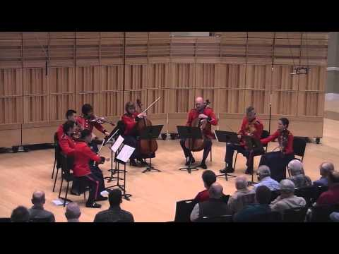 "MENDELSSOHN Octet in E-flat, Opus 20 - ""The President's Own"""