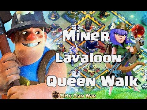 P1/2 All Star vs Vatang | Queen Walk + Miner, Hog, Laloon | 3 Stars War TH11 | ClanVNN #392