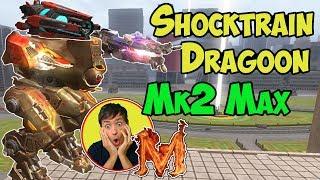 War Robots Mk2 Maxed Dragoon & Shocktrain Boa - Weird Setup WR BoA 検索動画 14