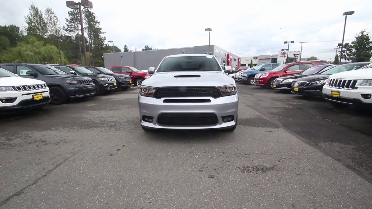 2018 Dodge Durango R T Awd Billet Metallic Clear Coat