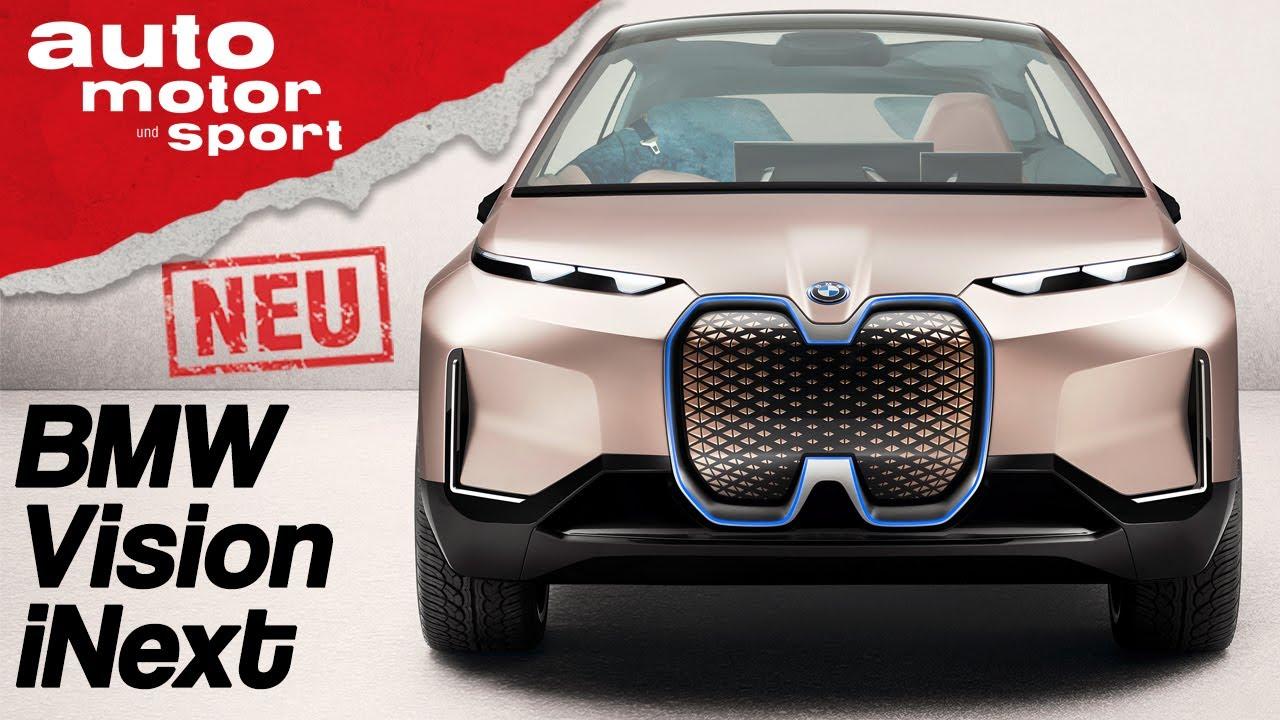 Bmw Vision Inext Knopflos In Die Zukunft La Autoshow 2018