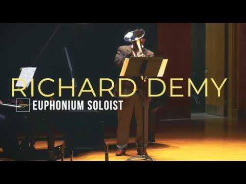 Concert Variations- By: Jan Bach, Richard Demy- euphonium