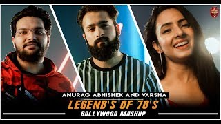 Legend's of 70's Old Bollywood Songs Mashup | Anurag Abhishek & Varsha | 70's hit Songs
