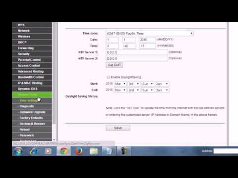 tp link how to change router password