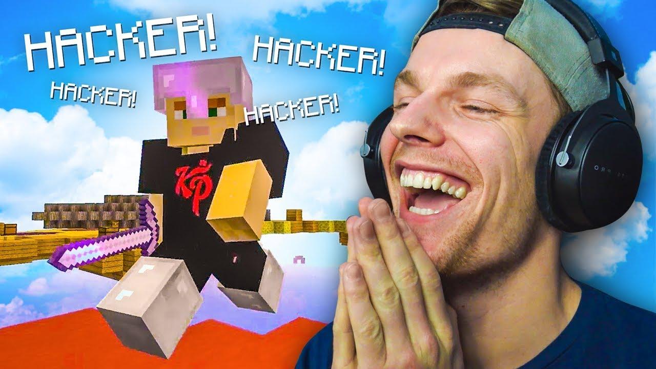 IK MOET BEWIJZEN DAT IK GEEN HACKER BEN! - Minecraft