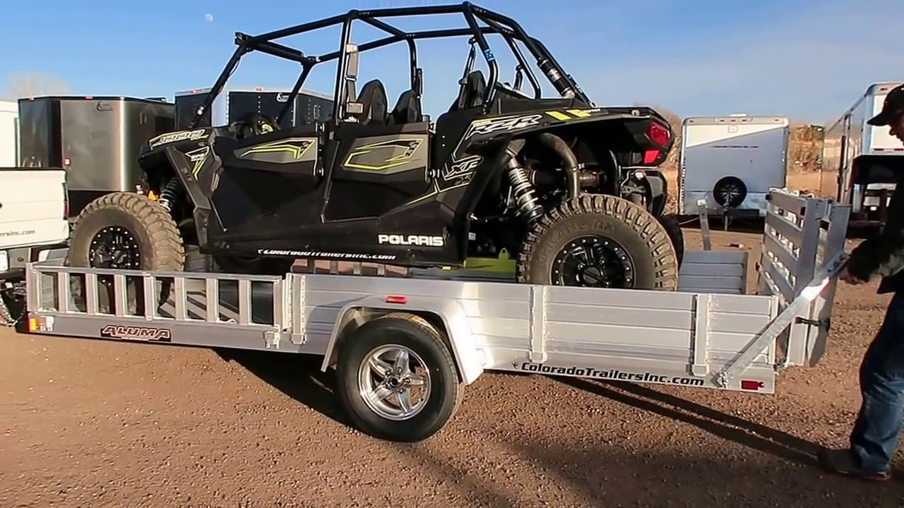 Rzr 1000 Dimensions >> Perfect Rzr1000 Trailer Youtube