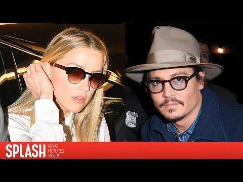 Amber Heard and Johnny Depp Settle Divorce | Splash News