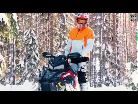Трейлер к тест драйву  снегохода Polaris Switchback XCR 800 2018