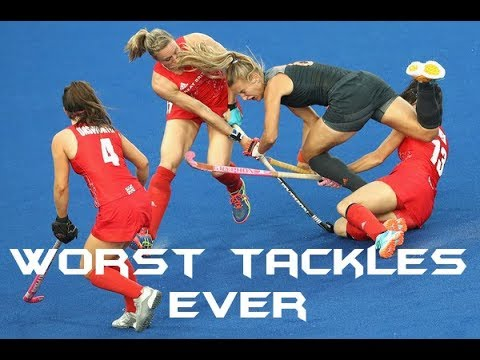 Worst Field Hockey Tackles Ever
