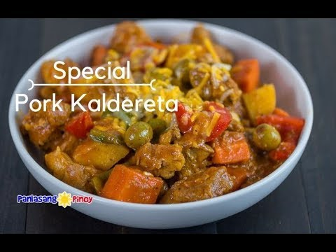 Special Pork Kaldereta