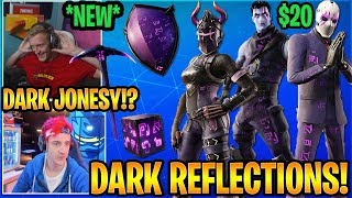 "Streamers USING the *NEW* ""DARK REFLECTIONS PACK"" in Fortnite"
