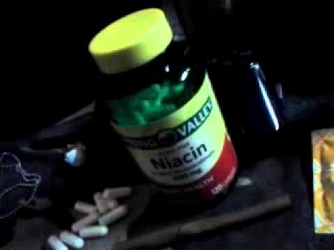 Niacin for passing drug test