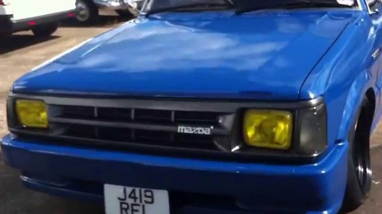 88 mazda b2200 mini truck [ 1280 x 720 Pixel ]