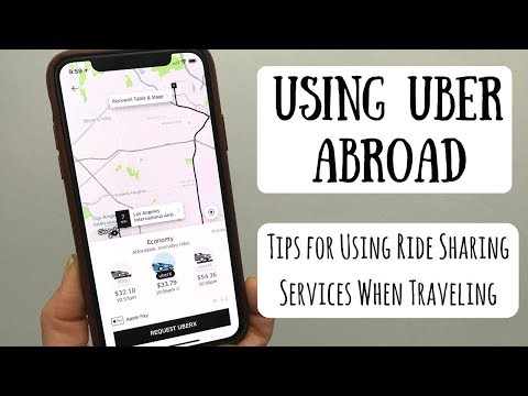 Using Ride Sharing Service Abroad | Tips & Tricks When Using Uber & Lift When Traveling